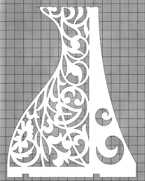 Схема полочек рисунок 4