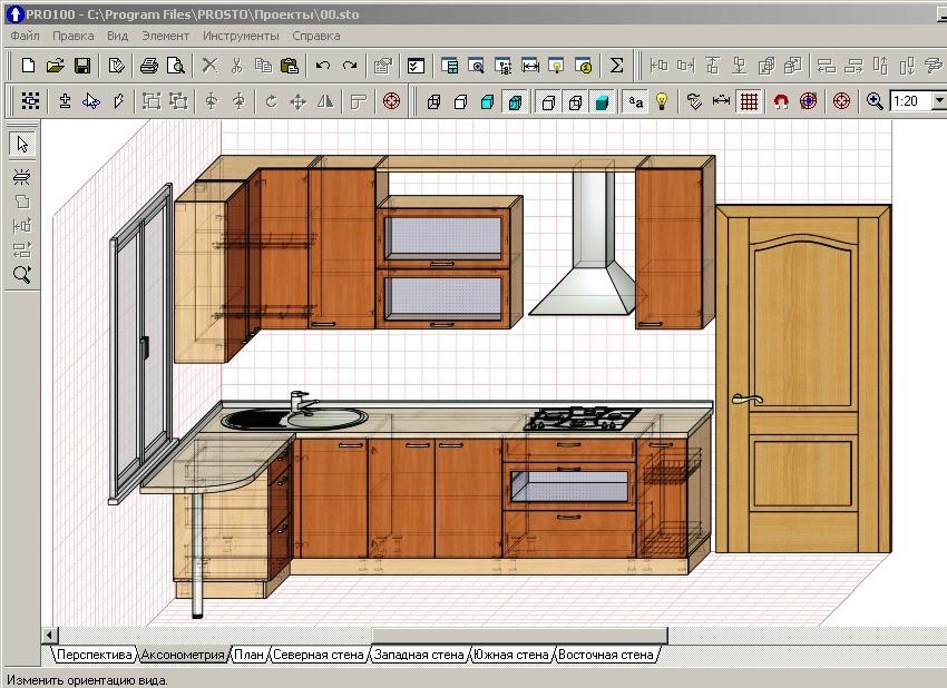 программа для дизайна мебели